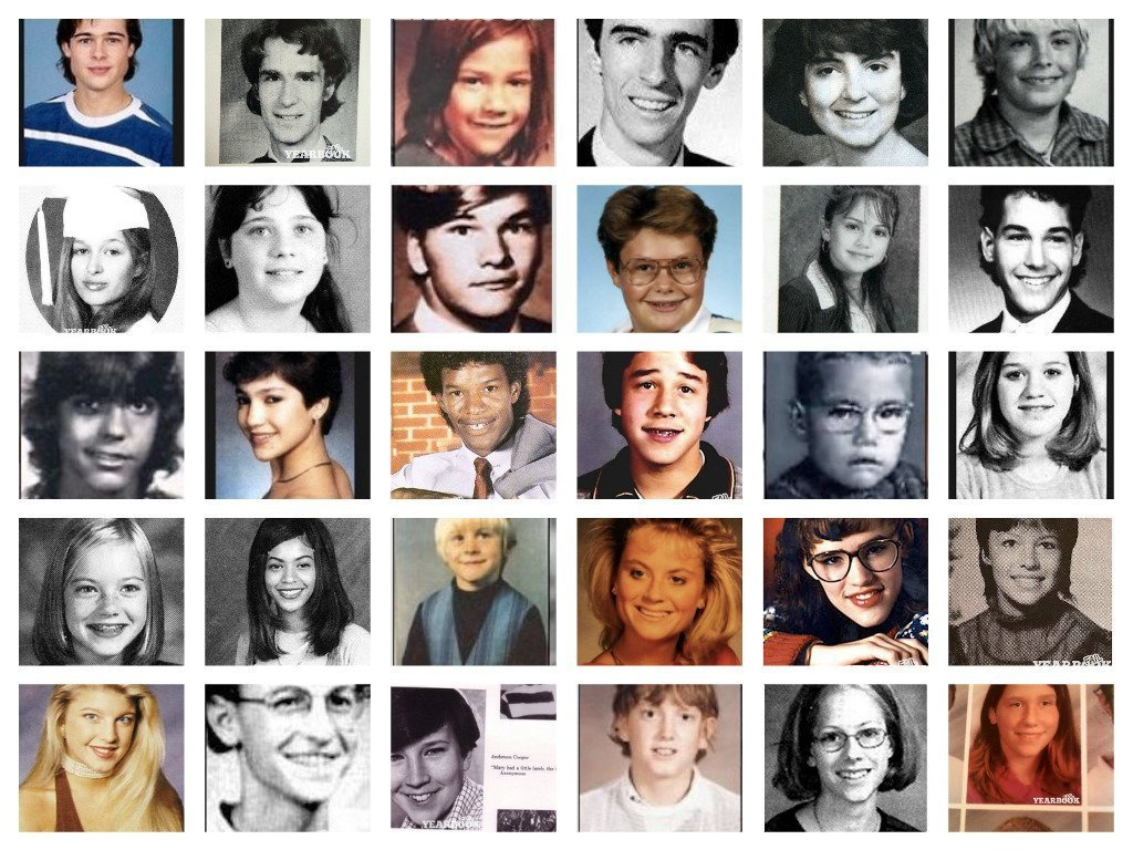Image result for celebrity yearbooks photos