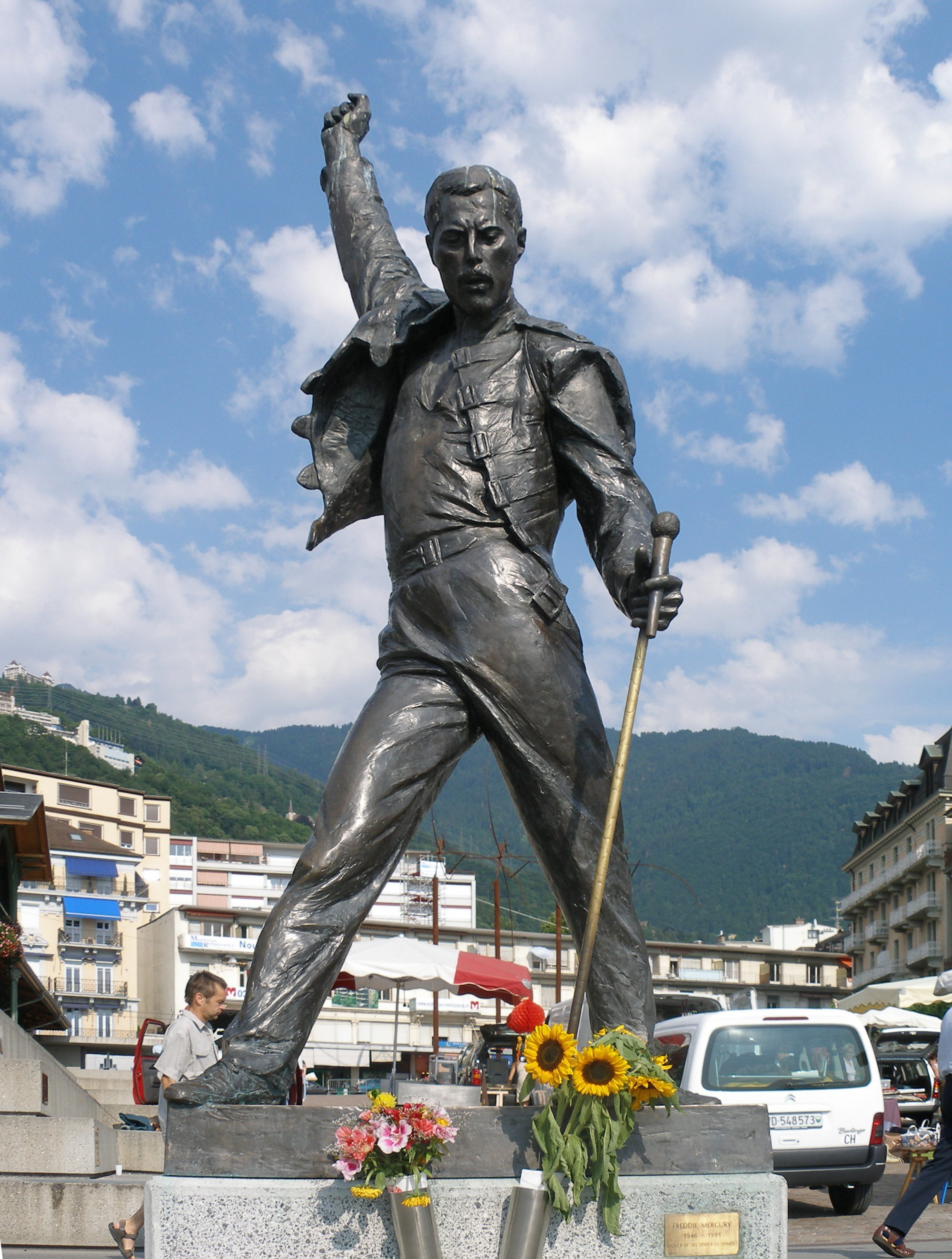 Image result for freddie mercury statue